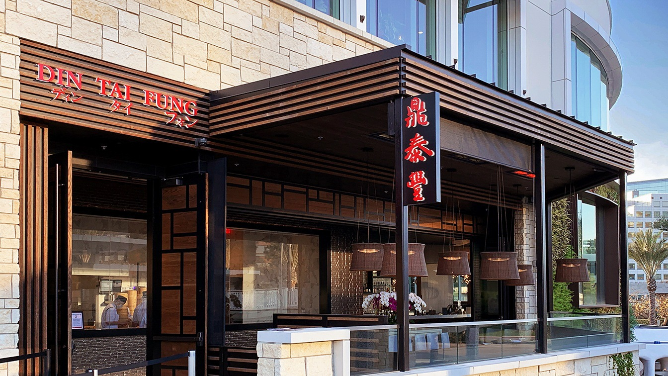 An exterior shot of Din Tai Fung in San Diego.