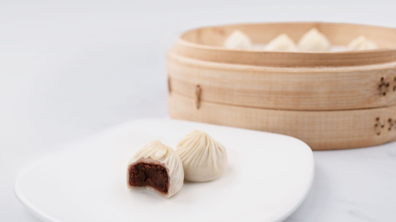 Red Bean & Mochi Xiao Long Bao