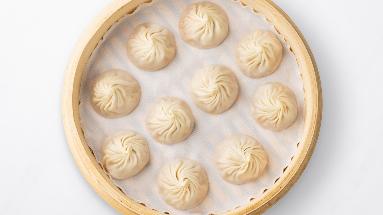 Steamer basket of Kurobuta Pork Xiao Long Bao