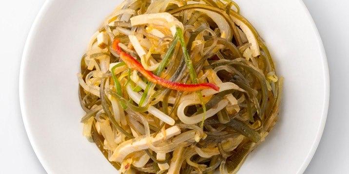 Seaweed & Beancurd In a Vinegar Dressing