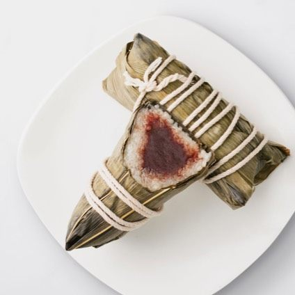 Red Bean Sticky Rice Wrap