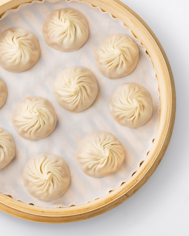 Basket of Kurobuta Pork Xiao Long Bao