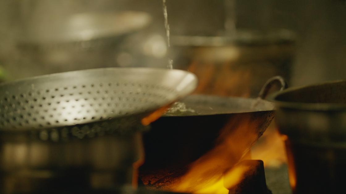 Kurobuta Pork Fried Noodles.